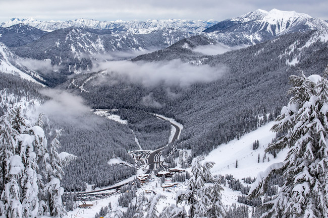 Stevens Pass Resort is less than 85 miles from Seattle, Washington. Photo credit: Vail Resorts