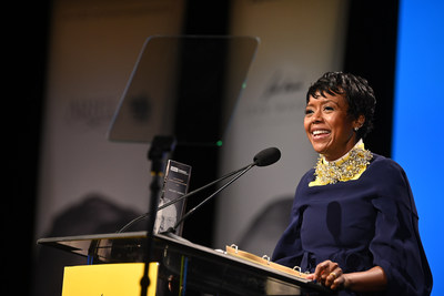 Mellody Hobson, co-CEO and president of Ariel Investments, and 2019 John Wooden Global Leadership Award recipient