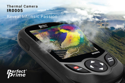 PerfectPrime IR0005 thermal camera revealing thermal secrets of Irazu volcano