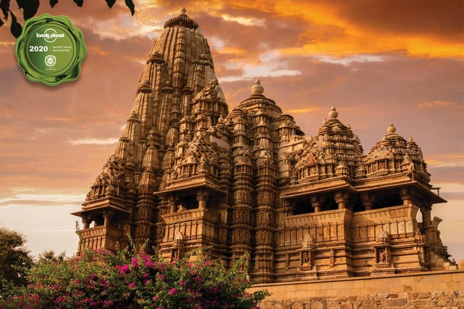 The ancient temple complex of Khajuraho