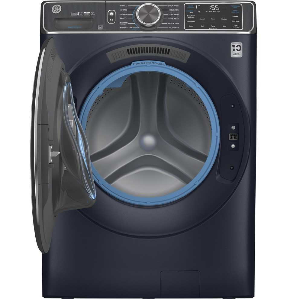 The revolutionary new UltraFresh Front Load washer from GE Appliances is engineered using first-of-its-kind technology to shut the door on odor.