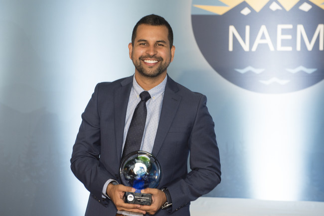 Ivan Marquez, Regional EHS Manager at Novolex, was presented an NAEM NextGen Leaders Award, which honors the forward-thinking EHS and Safety change makers and visionaries who are building safer, healthier workplaces and a more sustainable world. Marquez led the implementation of a mobile inspection system across all manufacturing locations, providing real-time data tracking and completion-submission verification.