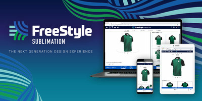 The next-generation design experience from Augusta Sportswear Brands is now available with its new FreeStyle Sublimation online design tool.