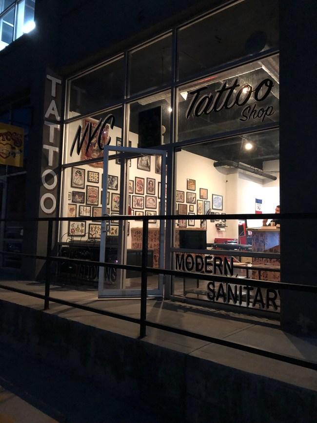 NYC Tattoo Shop