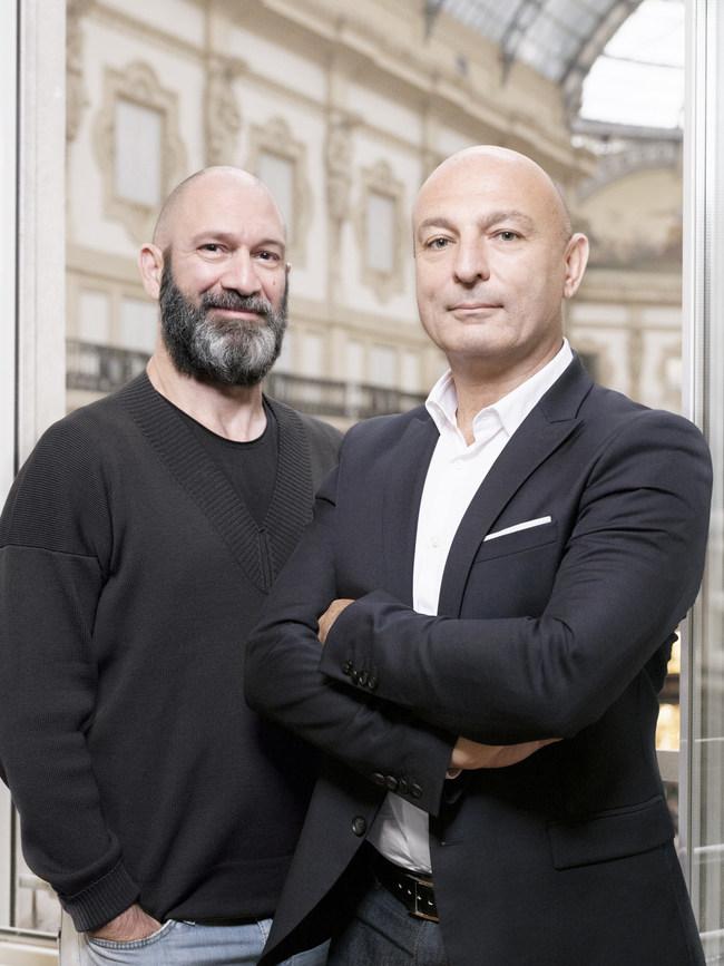 Left to right: Andrea Oreni, CEO of IMAXtree; Michael Jais, CEO of Launchmetrics