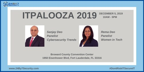 24By7Security Executives Present at ITPalooza 2019