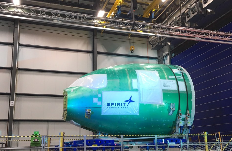 Spirit AeroSystems Delivers First Integrated 767 Forward Fuselage