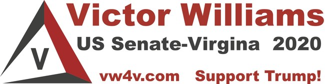 Victor Williams for Virginia (vw4v.com) is Professor Williams' insurgent 2020 campaign to defeat Mark Warner for US Senate in Virginia