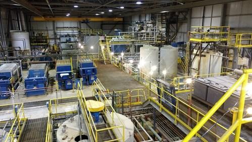 First Cobalt Refinery, November 2019 (CNW Group/First Cobalt Corp.)