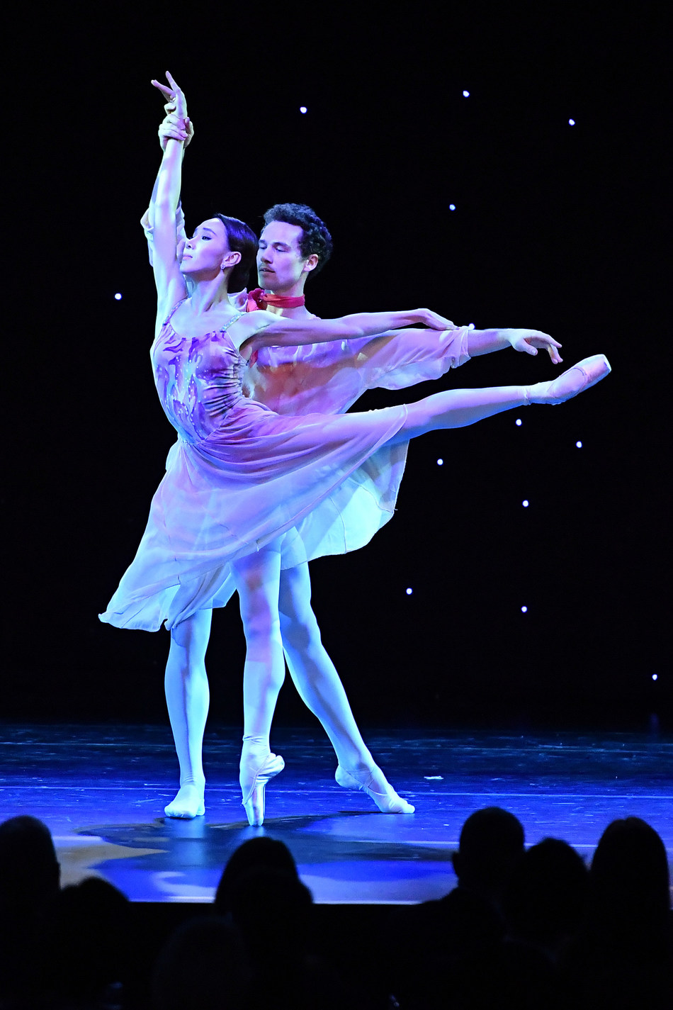Hee Seo and Cory Stearns perform at ABT Holiday Gala 2018 (Photo Credit: Vince Bucci Photography)