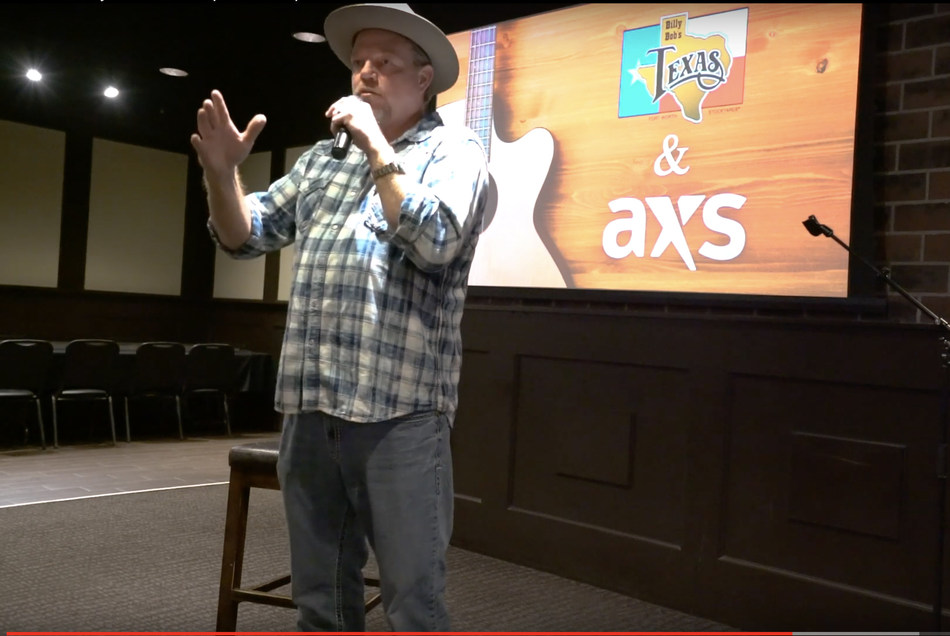 """""""Billy Bob's is a treasure to me, and I'm so excited to see the future,"""" said Pat Green, who was on hand for the press conference at Billy Bob's Texas on Dec.1. """"You can see it here, right now of where we are going, of how you get tickets into people's hands without worrying about anything."""""""