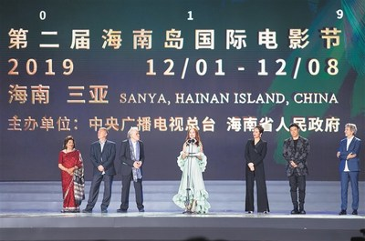 "Members of the international jury of ""Golden Coconut Awards"" of Hainan Island International Film Festival 2019"