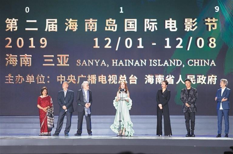 "Members of the international jury of ""Golden Coconut Awards"" of Hainan Island International Film Festival 2019"