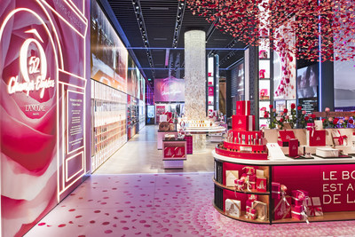 LANCOME's first flagship finds new address at 52 CHAMPS-ELYSEES in Paris