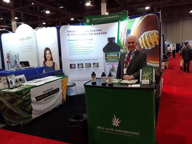"Brazilian Supreme Immune Health Juice Formula (www.ActivateImmuneSystem.com) receives enthusiastic reaction among Physicians, Healthcare and Wellness Practitioners attending the 26th World Congress on Anti-Aging Medicine Trade Show held in Las Vegas. ""Sales far surpassed our expectations,"" said CEO Tom Waid."