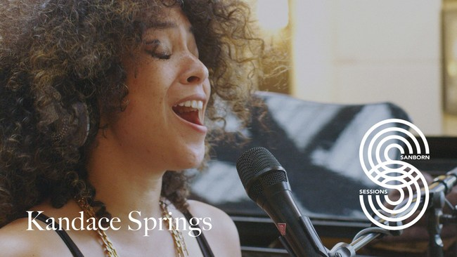 Kandace Springs Performs in Sanborn Sessions