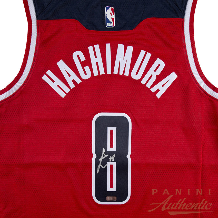 Panini America Signs History-Making Washington Wizards Rookie Rui Hachimura to Exclusive Autograph Trading Card and Memorabilia Agreement