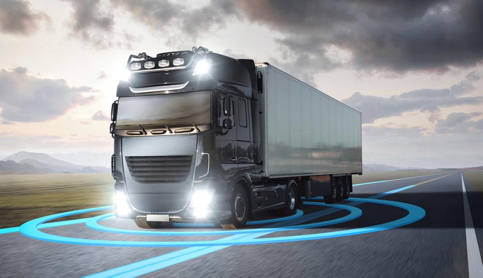 Connected Truck Market (PRNewsfoto/Frost & Sullivan)