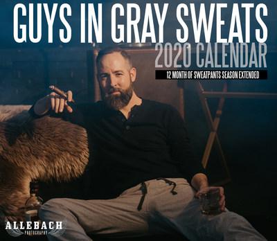 Guys in Gray Sweatpants Calendar 2020