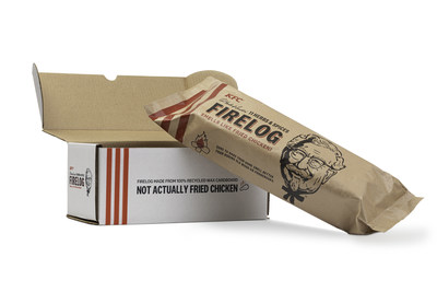 Starting today, KFC's Famous 11 Herbs & Spices Firelogs are available exclusively at Walmart.com for $18.99, with free two-day shipping, while supplies last.