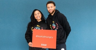 Stephen and Ayesha Curry's Eat. Learn. Play. Foundation and No Kid Hungry Partner to End Childhood Hunger in Oakland and Across the U.S.