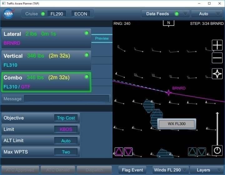 NASA TASAR application image