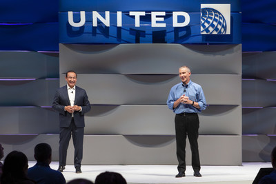 Oscar Munoz, CEO, United Airlines and Scott Kirby, President, United Airlines