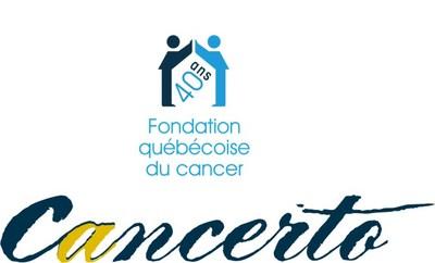 Logo : Cancerto (Groupe CNW/Fondation québécoise du cancer)
