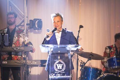 Bruno Pelletier - Maître de cérémonie (Groupe CNW/Fondation québécoise du cancer)