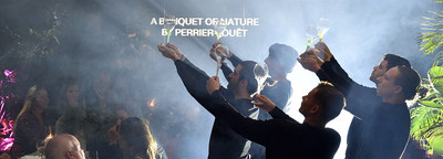 """A Banquet of Nature by Perrier-Jouet"" Revealed in Miami: For Reconnecting With Nature and One Another"