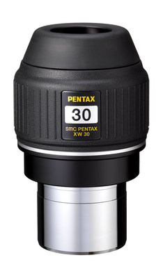 The smc PENTAX XW30-R is ideal for observing nebulae and star clusters with clear, comfortable viewing assured by an extra-wide 70° apparent angle of view and an extra-long 20mm eye relief for an exciting, wide-perspective image.