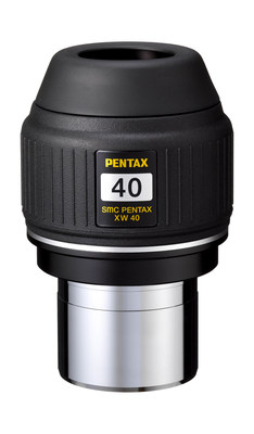The smc PENTAX XW40-R is ideal for observing nebulae and star clusters with clear, comfortable viewing assured by an extra-wide 70° apparent angle of view and an extra-long 20mm eye relief for an exciting, wide-perspective image.