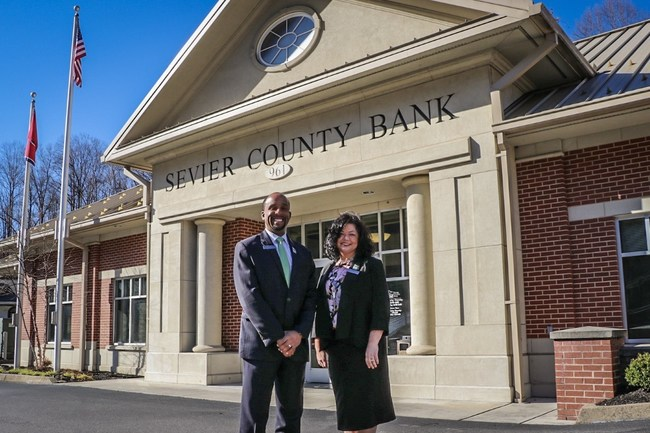 Montay Calloway (left) and Amy Abercrombie (right) have joined Sevier County Bank as retail market leaders.