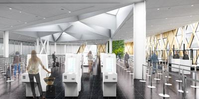 Connection Centre inside view (CNW Group/Aéroports de Montréal)
