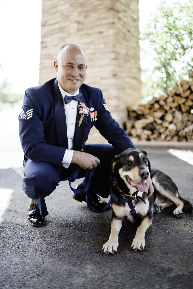 Animal Humane Society of New Mexico: Being stationed in New Mexico inspired Chris to adopt a dog. Little did he know, he'd end up finding love at the shelter, too.