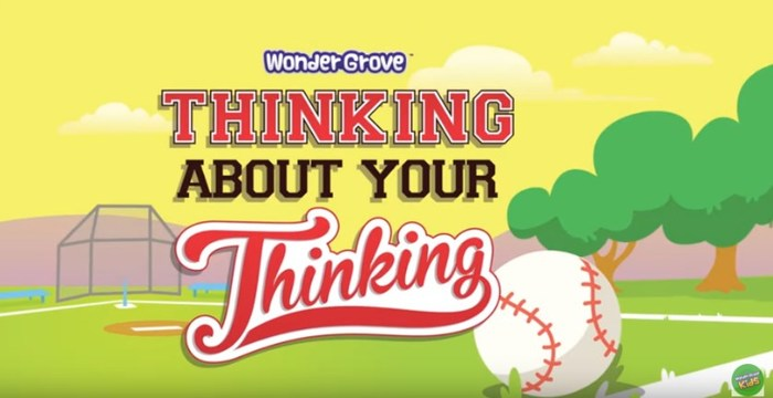 Thinking About Your Thinking, one of the 16 Habits of Mind