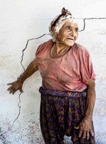 'Women of Anatolia' Series, No:1, Line of Life, 2014