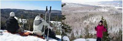 Impossible de rester de glace devant de tels paysages!  Photo : Parcs Canada (Groupe CNW/Parcs Canada)