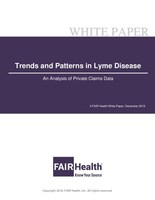 Lyme Disease Claim Lines Increased 117 Percent from 2007 to 2018