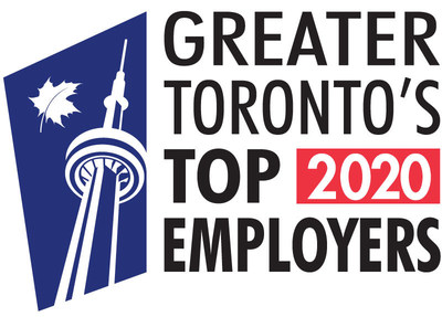 Mattamy Homes has been named one of Greater Toronto's Top Employers for the second year in a row. (CNW Group/Mattamy Homes Limited)