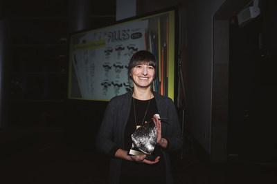 Photo 8 : le Prix Droits et Libertés 2019 a été remis à Élise Gravel (Groupe CNW/Commission des droits de la personne et des droits de la jeunesse)