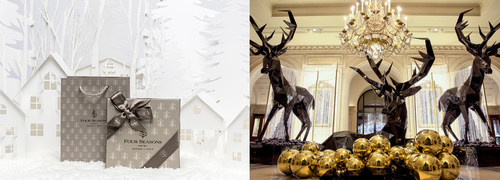 Four Seasons Hotel George V, Paris Offers Five Exceptional Gifts to Experience a Magical Christmas
