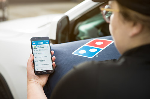 Domino's is rolling out GPS delivery tracking technology to stores across the country. Customers who order from stores that have these capabilities will be able to see the location of their order and delivery driver on an interactive map.