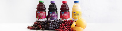 Ocean Spray expands Its Pure portfolio of unsweetened premium fruit juices, continuing its focus on health and wellness.