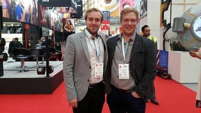 Da esquerda para a direita: Timo Olkkola, CCO e cofundador da Flowhaven; Kalle Törmä, CEO e fundador da Flowhaven.