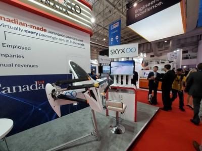 SkyX presents SkyTwo at the Dubai Air Show (CNW Group/SkyX)