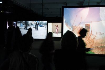 Exhibition view of Francis Alÿs. Children's Games presented at the Musée d'art contemporain de Montréal from September 4, 2019 to January 5, 2020 in MOMENTA   Biennale de l'image. Photo: Gabriel Fournier (CNW Group/Musée d'art contemporain de Montréal)