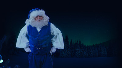 WestJet gives Canadians and Ronald McDonald House Charities Canada families a holographic Christmas experience to remember (CNW Group/WESTJET, an Alberta Partnership)