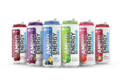 Optimum Nutrition enters agreement with Kalil Bottling Company for distribution of ESSENTIAL AMIN.O. ENERGY PLUS ELECTROLYTES Sparkling Hydration Drink, expanding retail availability for the award-winning ready to drink beverage.
