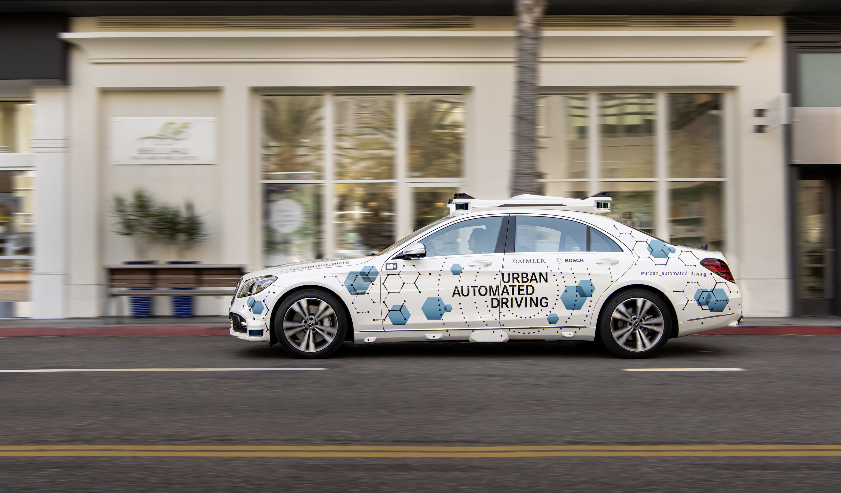 Mercedes Benz and Bosch start San José pilot project for automated ...